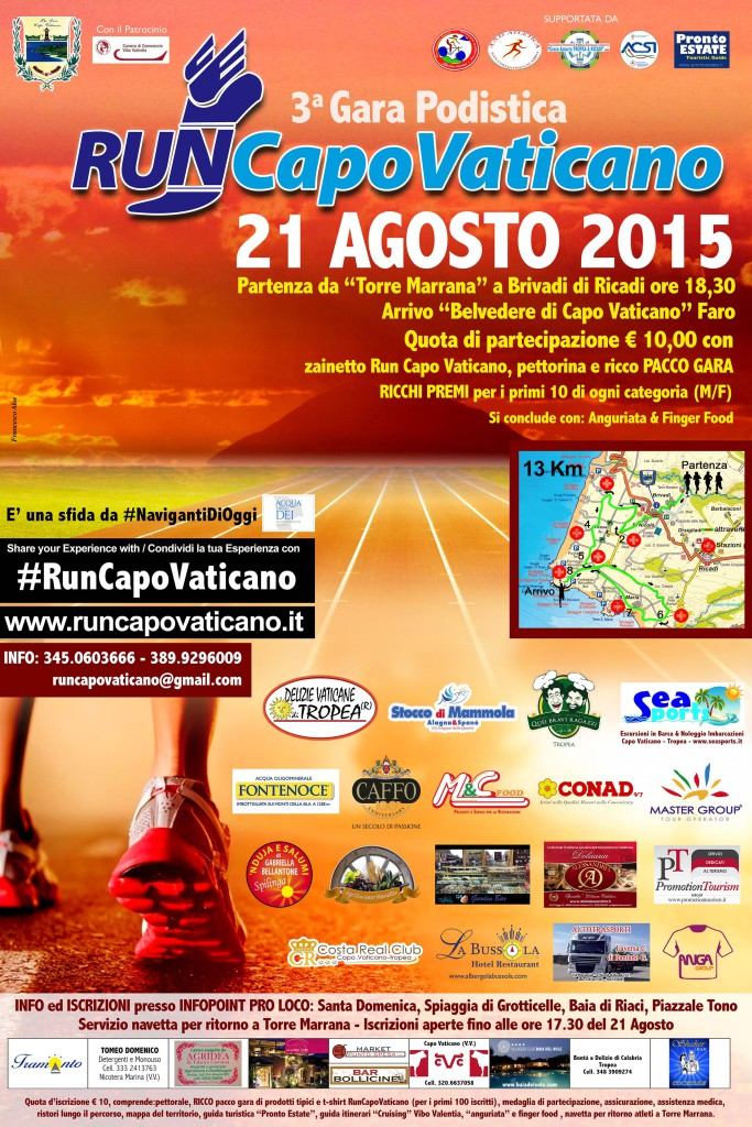 Run Capo Vaticano 2015